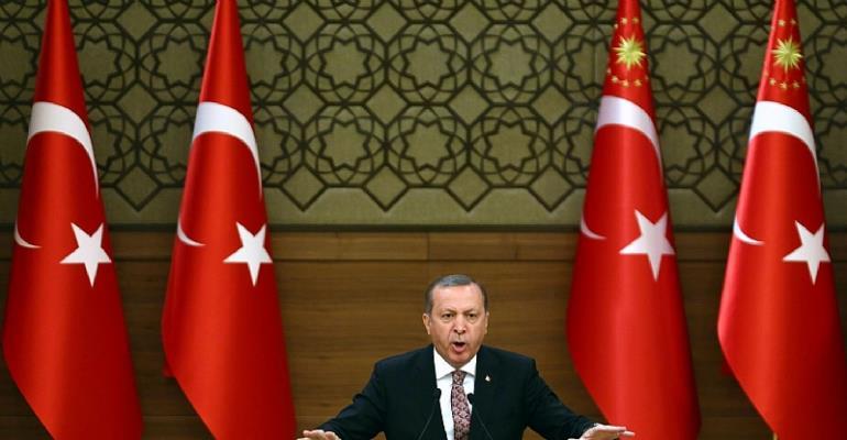 Turkish President Recep Tayyip Erdogan. (Adem Altan/Agence France-Presse via Getty Images)