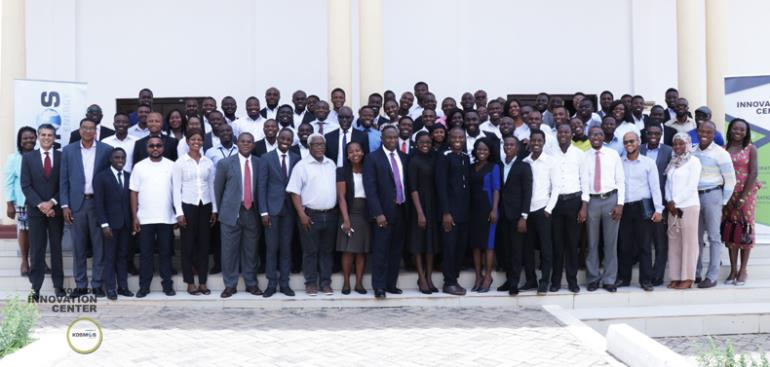 The KIC team, Ideation team and participants