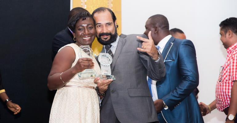 Some jubilant 2017 award winners