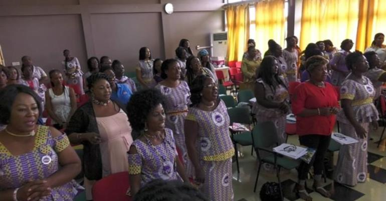 Industrial And Commercial Workers Union Engaged Women In Cocoa Production