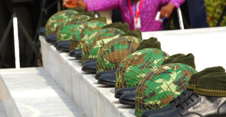 Cashier Undisciplined Soldiers Now!