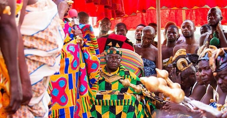Otumfuo Osei Tutu II Marks 17 years On The Golden Stool