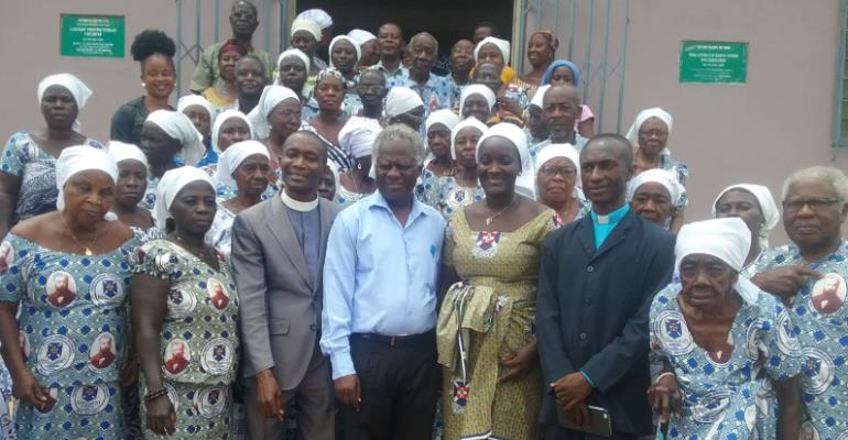 Sekyere Presbytery Chairman Tours Nsuta District -