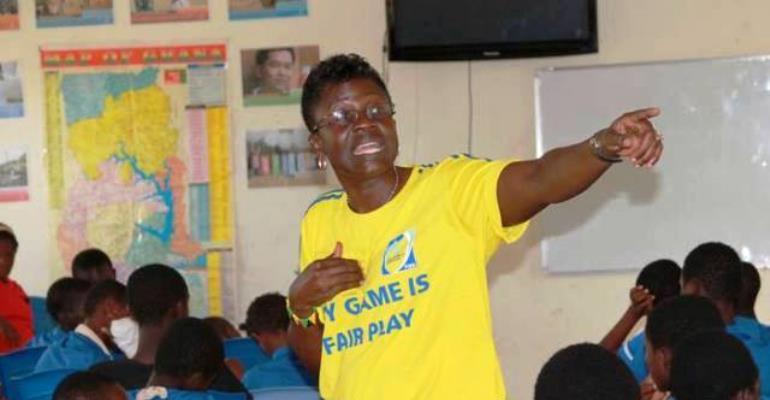 'Accomplished' Mercy Tagoe-Quarcoe is Ghana 's first female national team coach