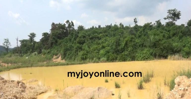 Uncovered galamsey pits plunge Amansie West into malaria endemic area