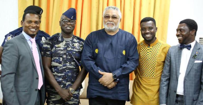 Rawlings Endorses Kofi Sarpong's Concert