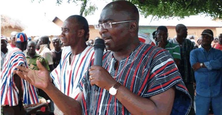 Akufo-Addo will leave T'di-Paga railway line as legacy to posterity- Bawumia