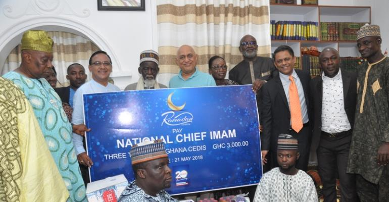 QNET Donates To The National Chief Imam's Orphanage And Educational Trust Fund