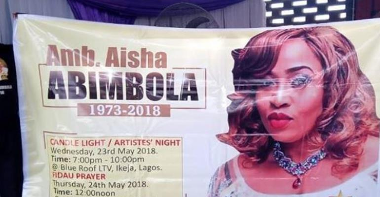Nollywood Celebrities Set Hold Candlelight Procession for Late Actress, Abimbola Aisha