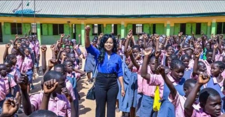 Ex-beauty Queen Irene Holds Children's Peace Advocacy Concert In FCT