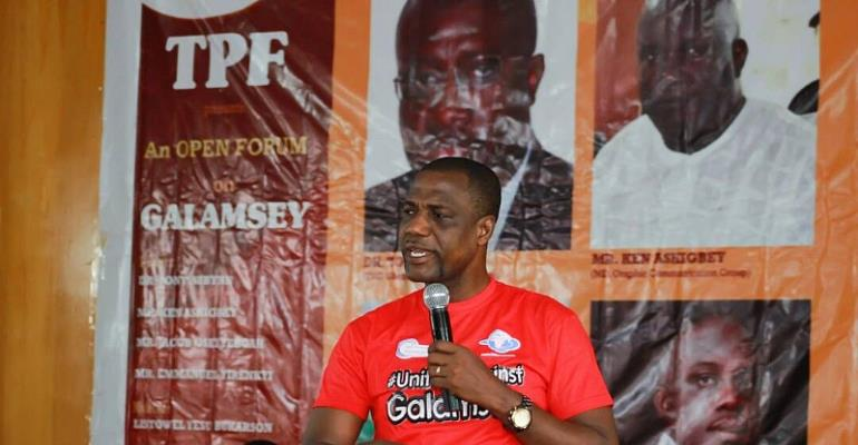 The Fight Against Galamsey: United Against Galamsey...Presented By JOY, 2016 Independent Presidential Candidate