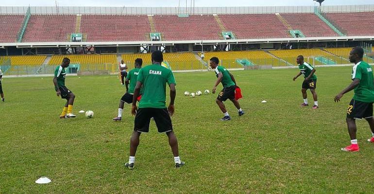 AFCON 2019: Black Stars start training ahead of Ethiopia clash