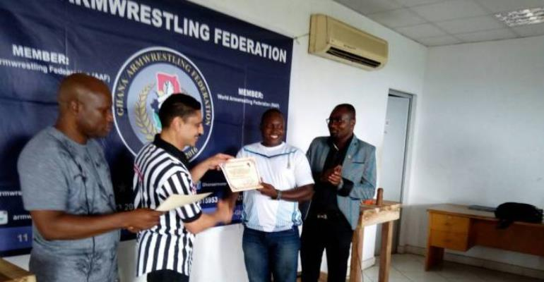 5 Ghanaians Elevated To Senior Officials In African Armwrestling Federation