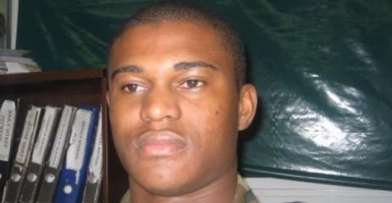 The late Capt. Maxwell Mahama