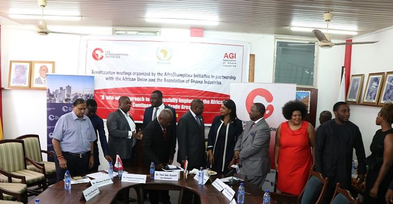 African Continental Free Trade: AfroChampions Initiative And African Union Start Sensitization Program In Ghana