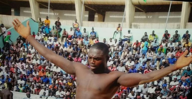 Ghana Wrestling Champion, Ayeh Appeals For Support
