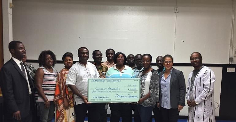 Kwakwaduam Association Of New York Receives Donation