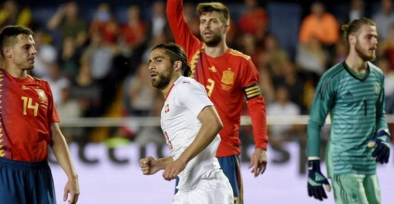 Spain Held At Home By Switzerland