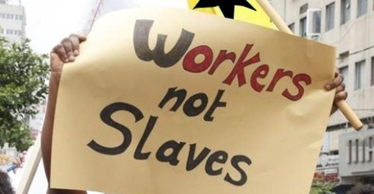 Modern Day Slavery In The Gulf