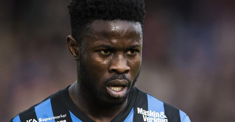 IK Sirius star Kingsley Sarfo won't join Black Stars for AFCON qualifier over nationality dilemma