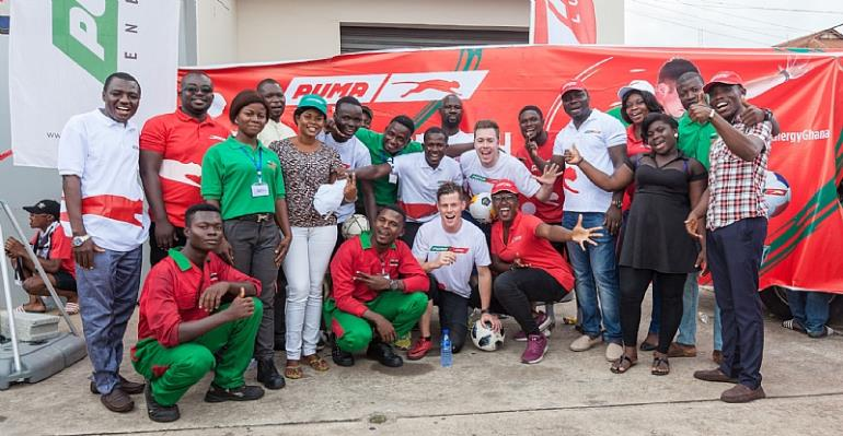 Puma Energy Thrills Soccer Fans In Accra And Kumasi