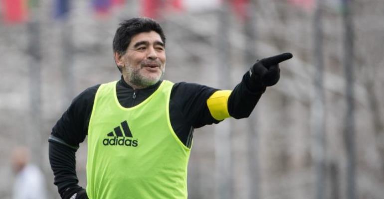 Diego Maradona Rushed To Hospital Ahead of World Cup