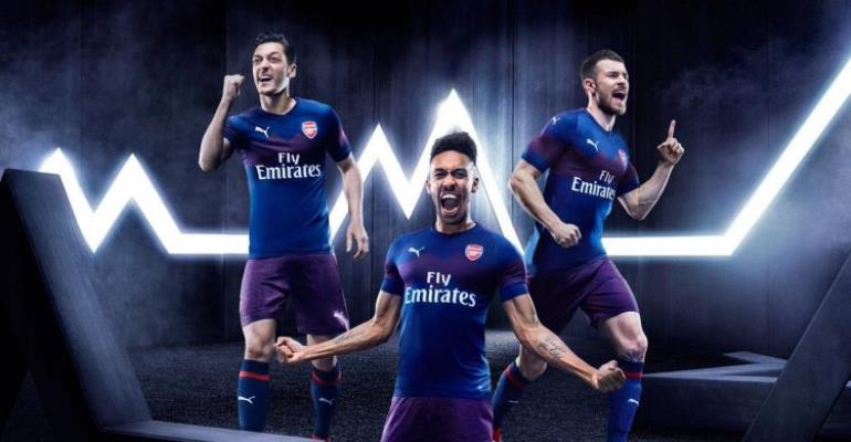 Arsenal Unveil Away Kit For 2018/19 Campaign