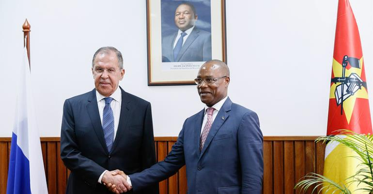 Mozambique Foreign Affairs Minister Holds Diplomatic Talks With Russian Counterpart