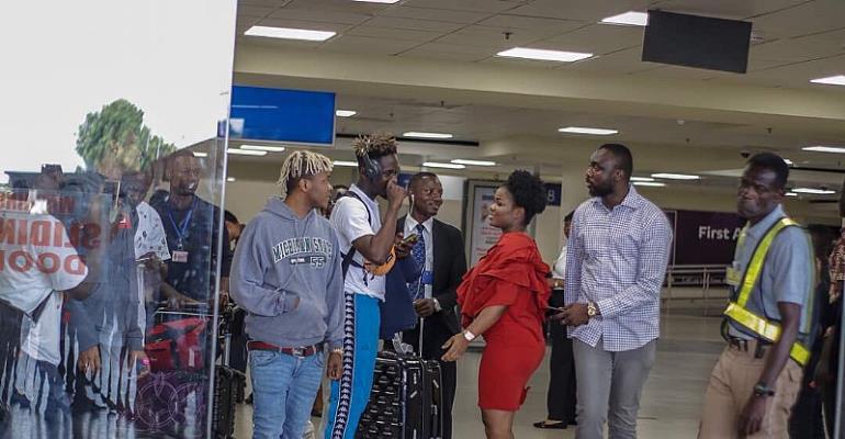 Photos: Stars Arrive For Ghana Meets Naija Concert