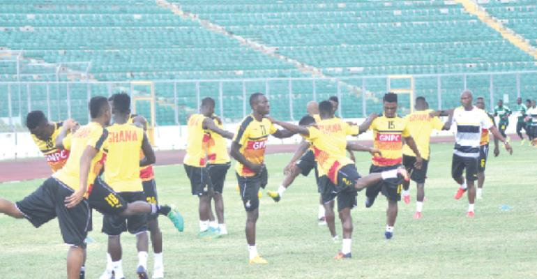 Black Stars back to renew ties with Kumasi fans for AFCON qualifier