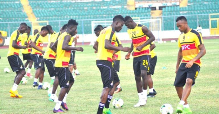 Black Stars poised for victory in Sunday's AFCON qualifier in Kumasi