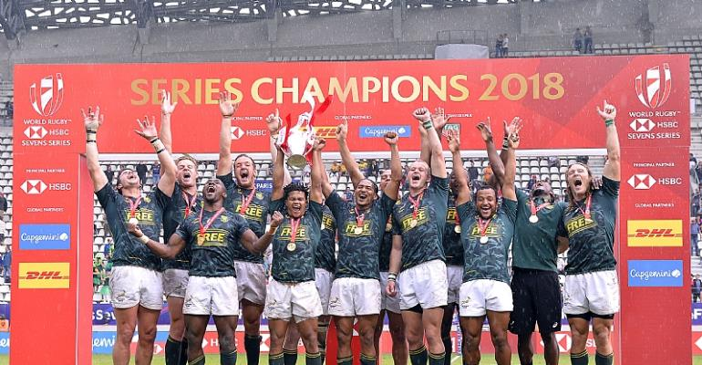 The Springbok Sevens make history With Consecutive World Rugby Series Titles