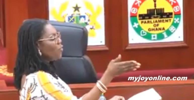 Controversial $89m Kelni GVG Contract: NPP MPs Abandon Ursula Owusu In Parliament