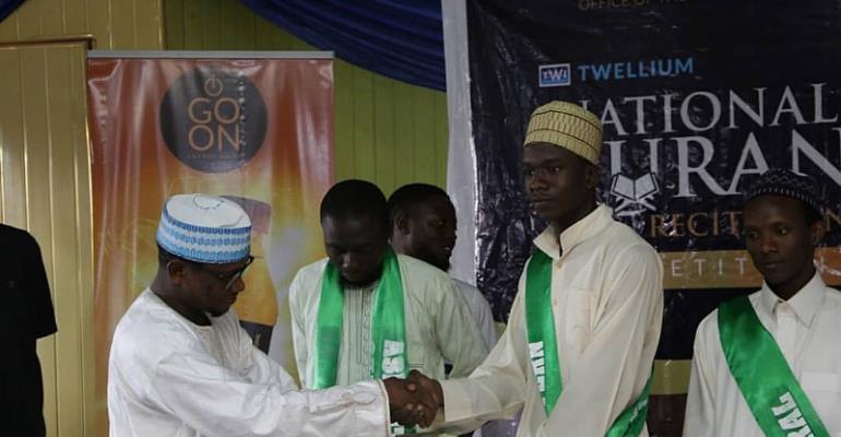 Free Visit To Mecca Won By Contestant From This Region- Twellium Quran Recitation
