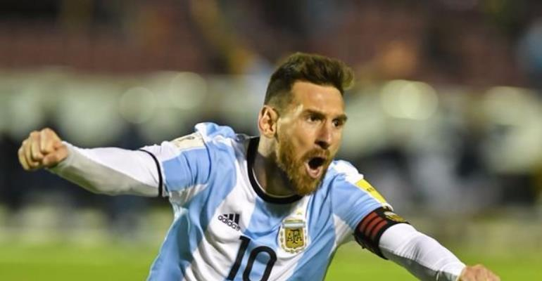 'Argentina Are Not The favourites' - Messi Ready For World Cup Fight