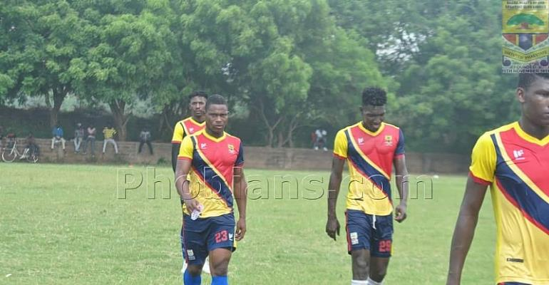 Hearts of Oak Interim Coach Seth Hoffmann Focuses On Intensive Physical Drills In First Training Session
