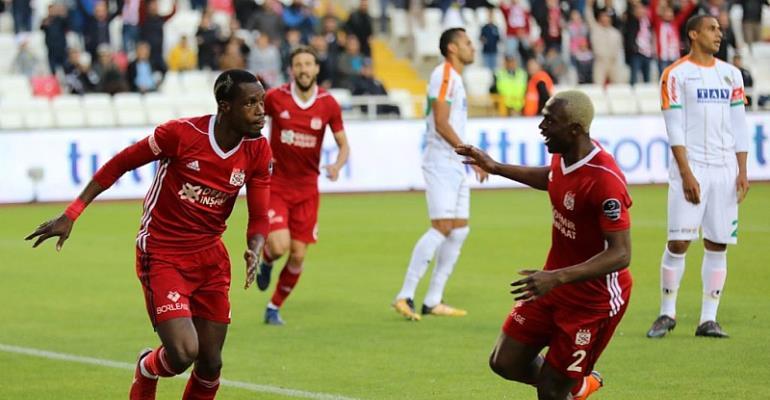 Ghana Defender John Boye's Contract With Turkish Club Sivasspor Expires