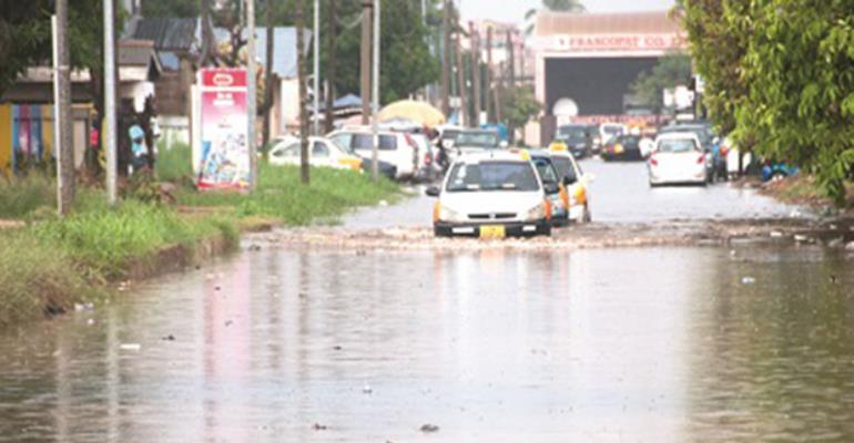 Flooding in Accra