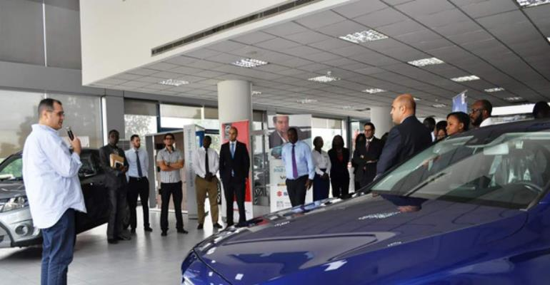 Nouhad Kalmoni launching the promotion