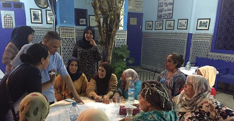 Community Mapping in the Mellah of Marrakesh