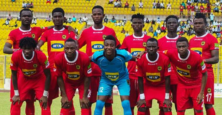 Asante Kotoko Break Players Foe One Week