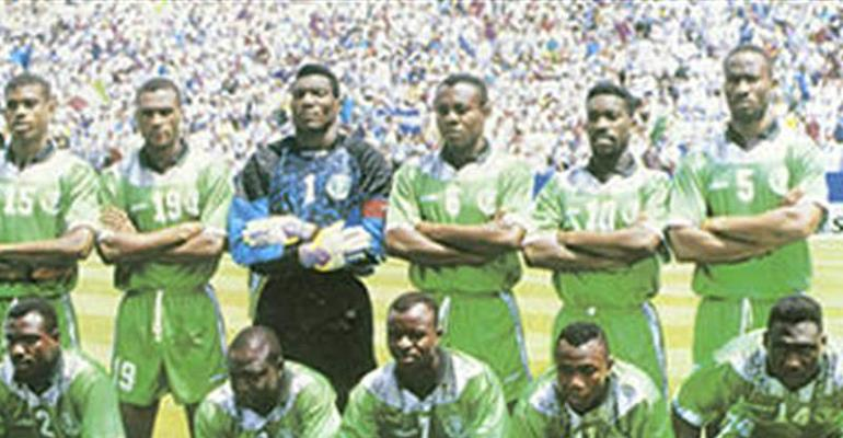 Yearning For Super Eagles Of 94