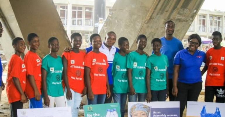 Ofankor: Voltic Employees Volunteer To Beat Plastic Pollution