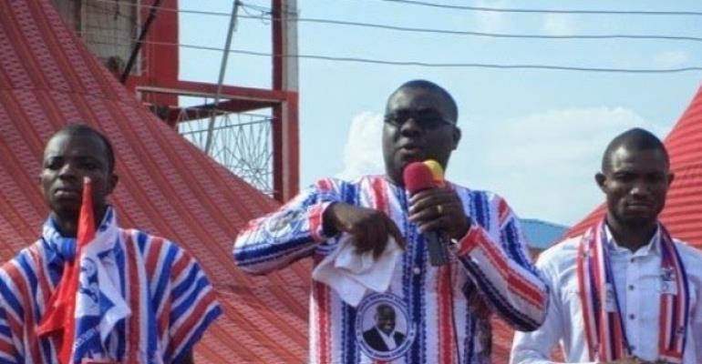 Npp Polls - Western Region Executives Endorses Sammy Awuku