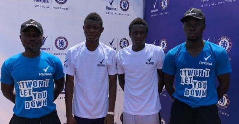 """Rexona 'Be the Next Champion"""" Train Stops In Tamale"""