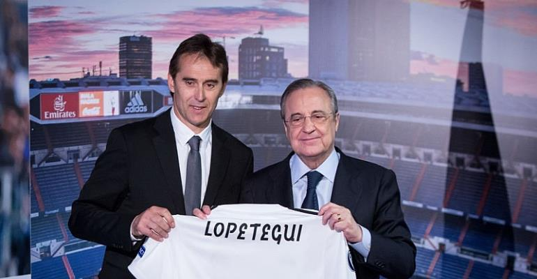 Real Madrid: Julen Lopetegui Sacking Not justified, Says Florentino Perez