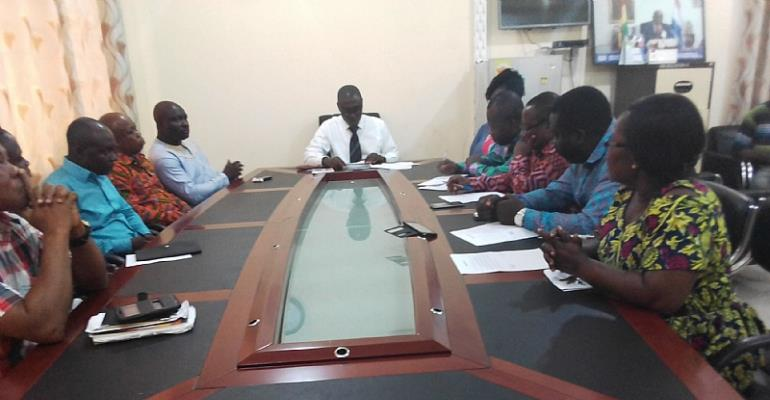 Gomoa Central District Assembly Inaugurates Agric Census Management Team