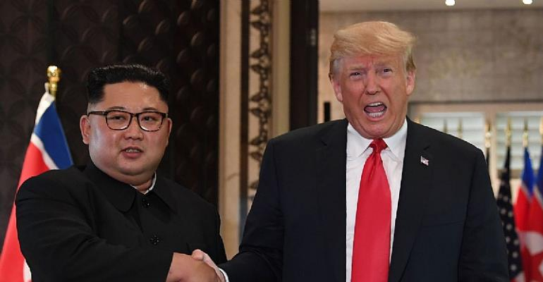 Trump says Kim 'trusts me, and I trust him'