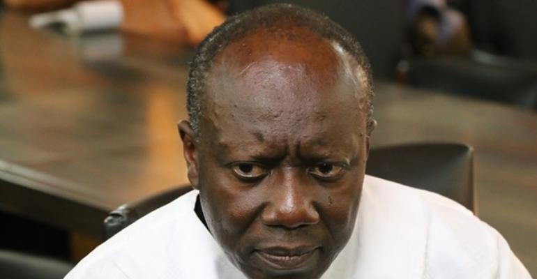 Ken Ofori Atta,  Minister of Finance