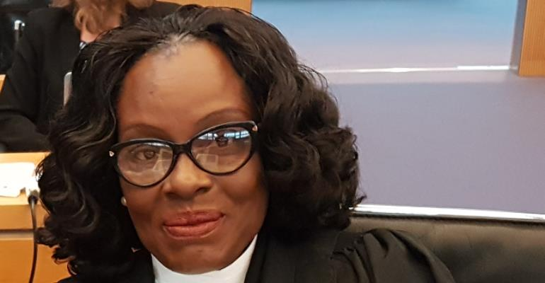 Gloria Akuffo,Attorney General and Minister of Justice